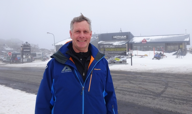 Jon Hutchins, Hotham CEO: on the challenges of operating a ski resort in the 21st Century