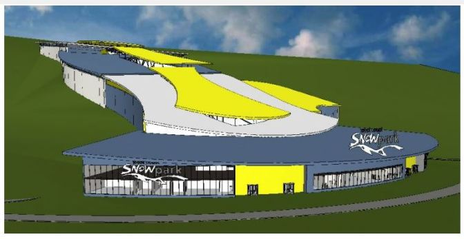 An indoor ski facility for Perth?