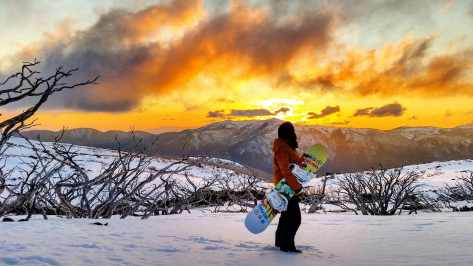 Falls-Creek-Sunset