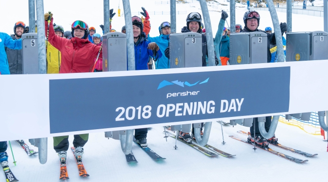 Lifts are spinning at Perisher