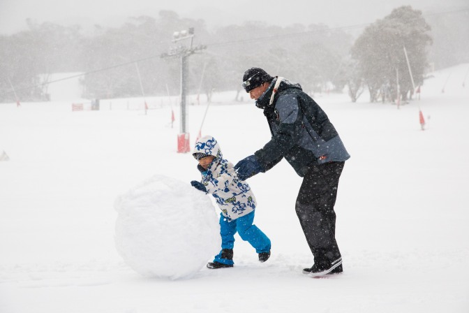 "Thredbo: ""It's dumping and there's no sign of it letting up yet"""