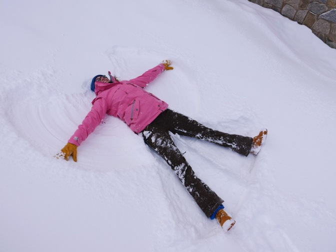 15cm of fresh snow at Mt Buller